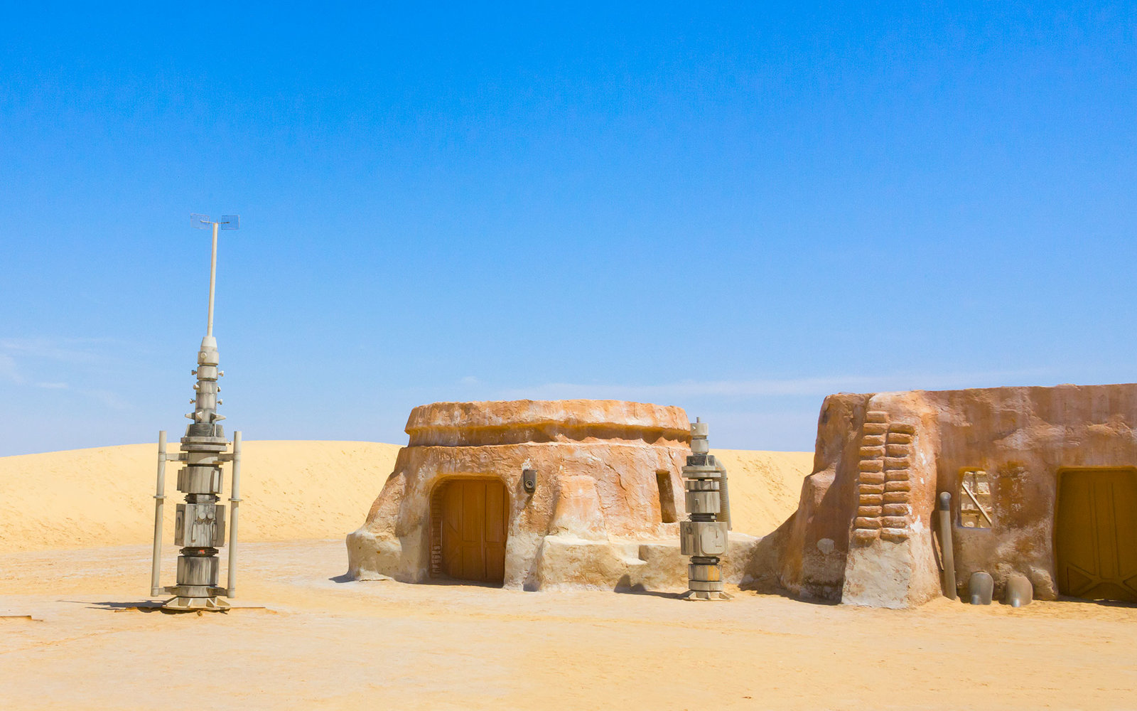 Star Wars' Tatooine in Tozeur, Tunisia