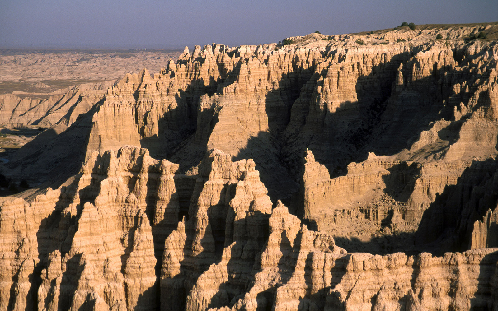 DF8WBB View from Sheep Mountain Table, remote area of Badlands National Park. South Dakota. USA