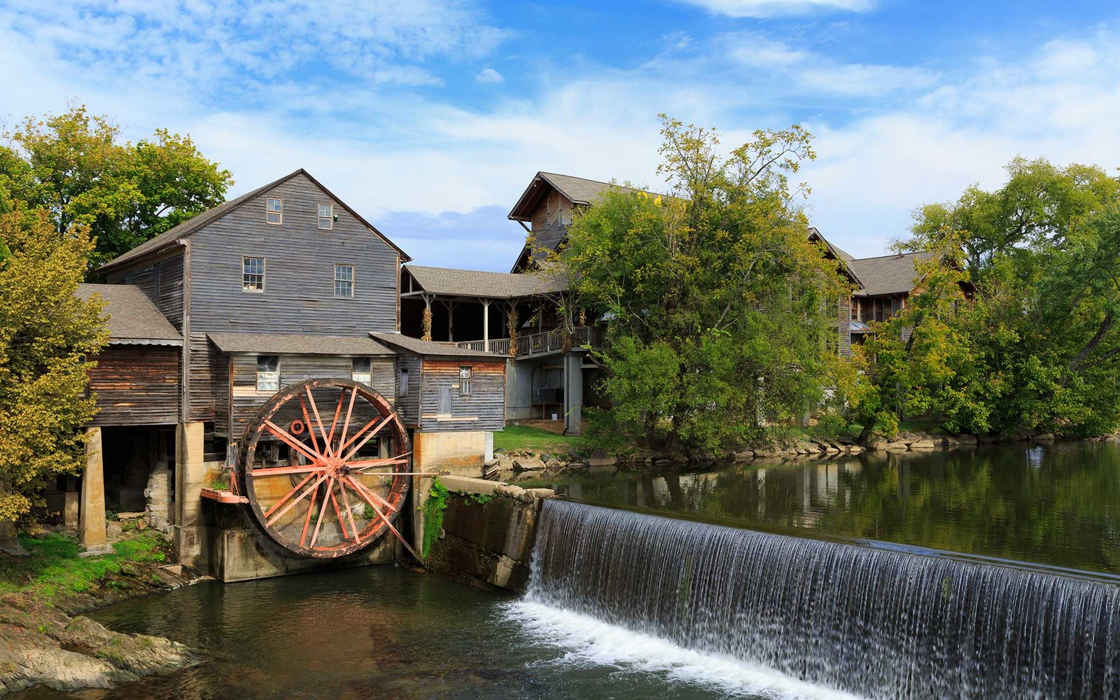 Old Mill in Pigeon Forge