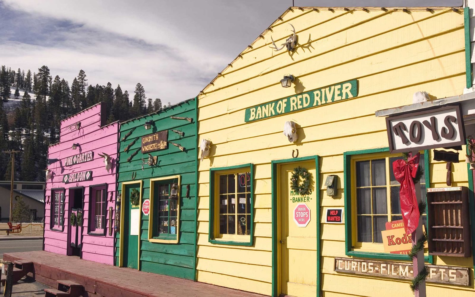 Fryes Old Town, Red River, New Mexico, USA