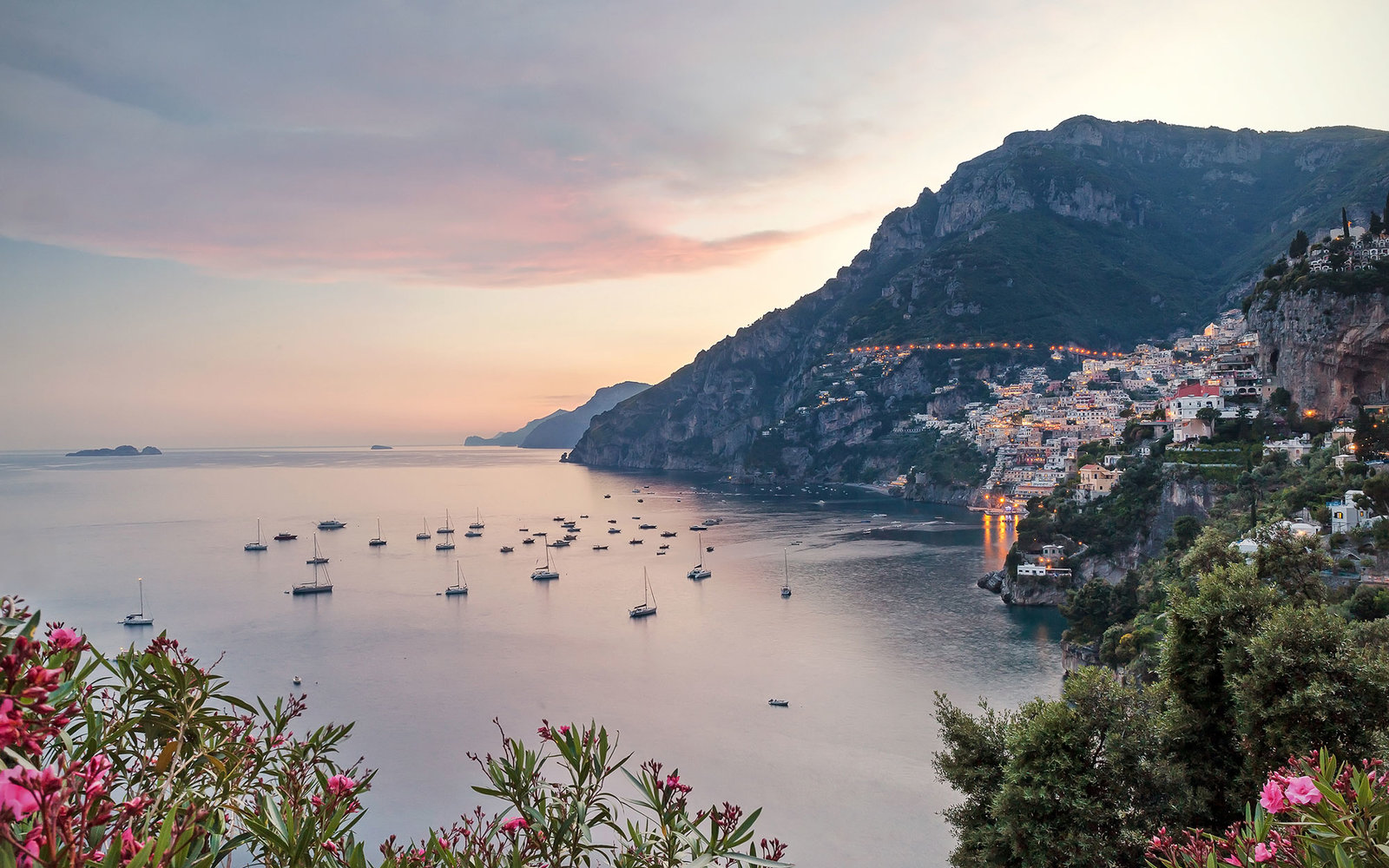 Amalfi Coastline Sunrise