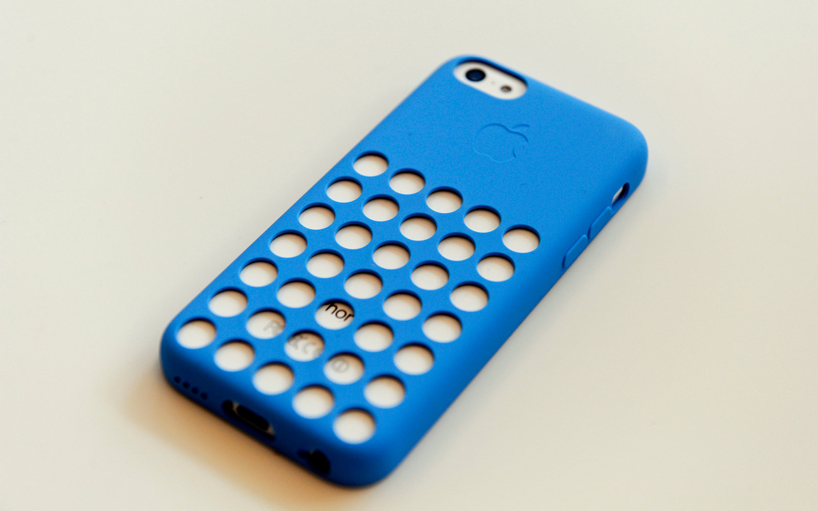 Apple iPhone with case