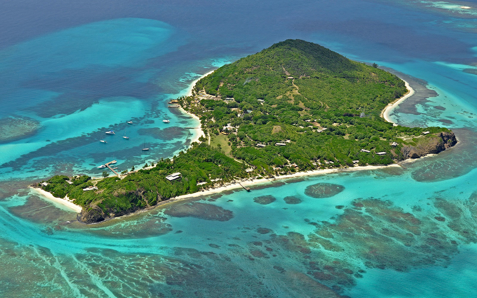 Petit St. Vincent Hotel in the Caribbean