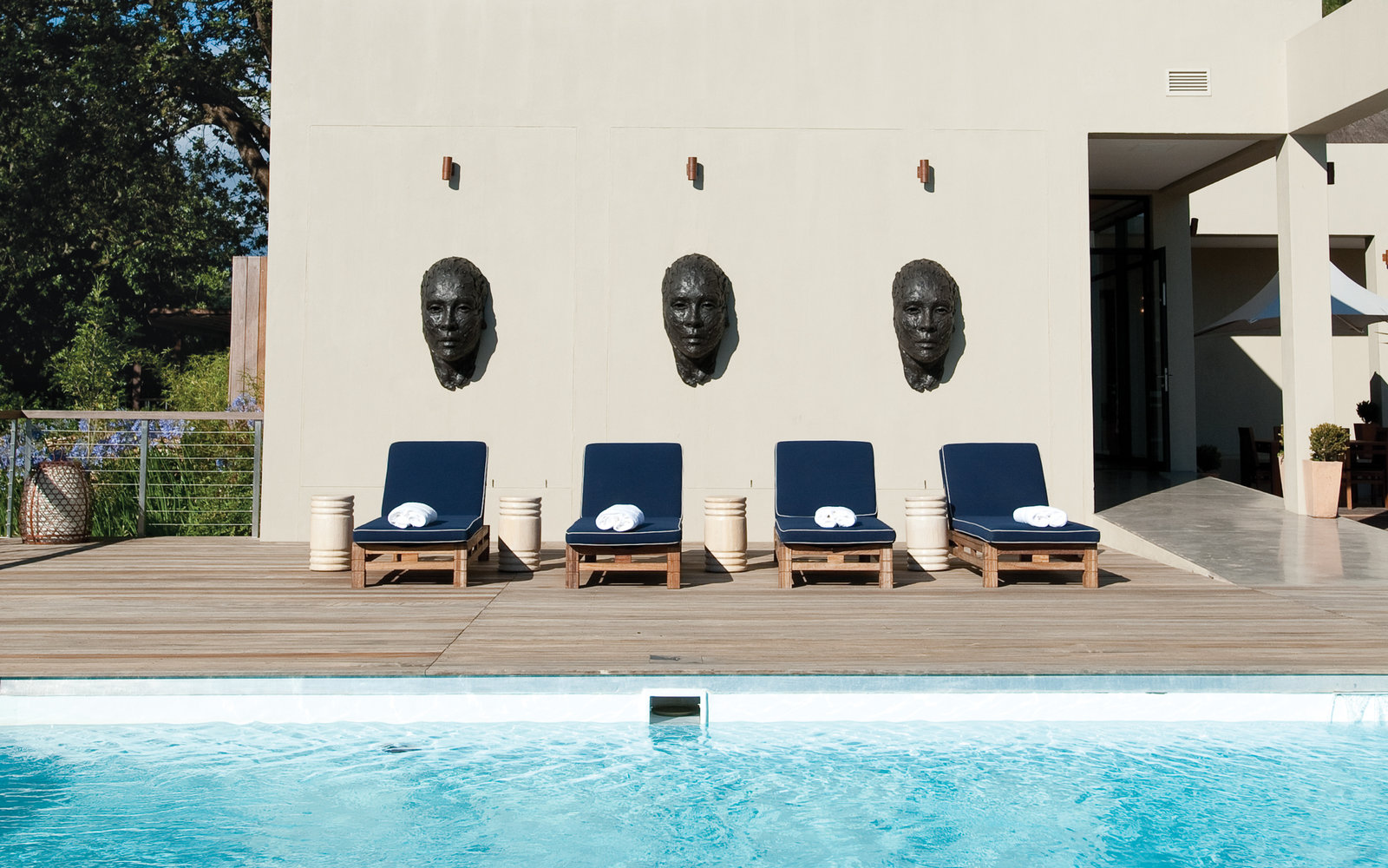 Delaire Graff Lodges and Spa, Stellenbosch, South Africa
