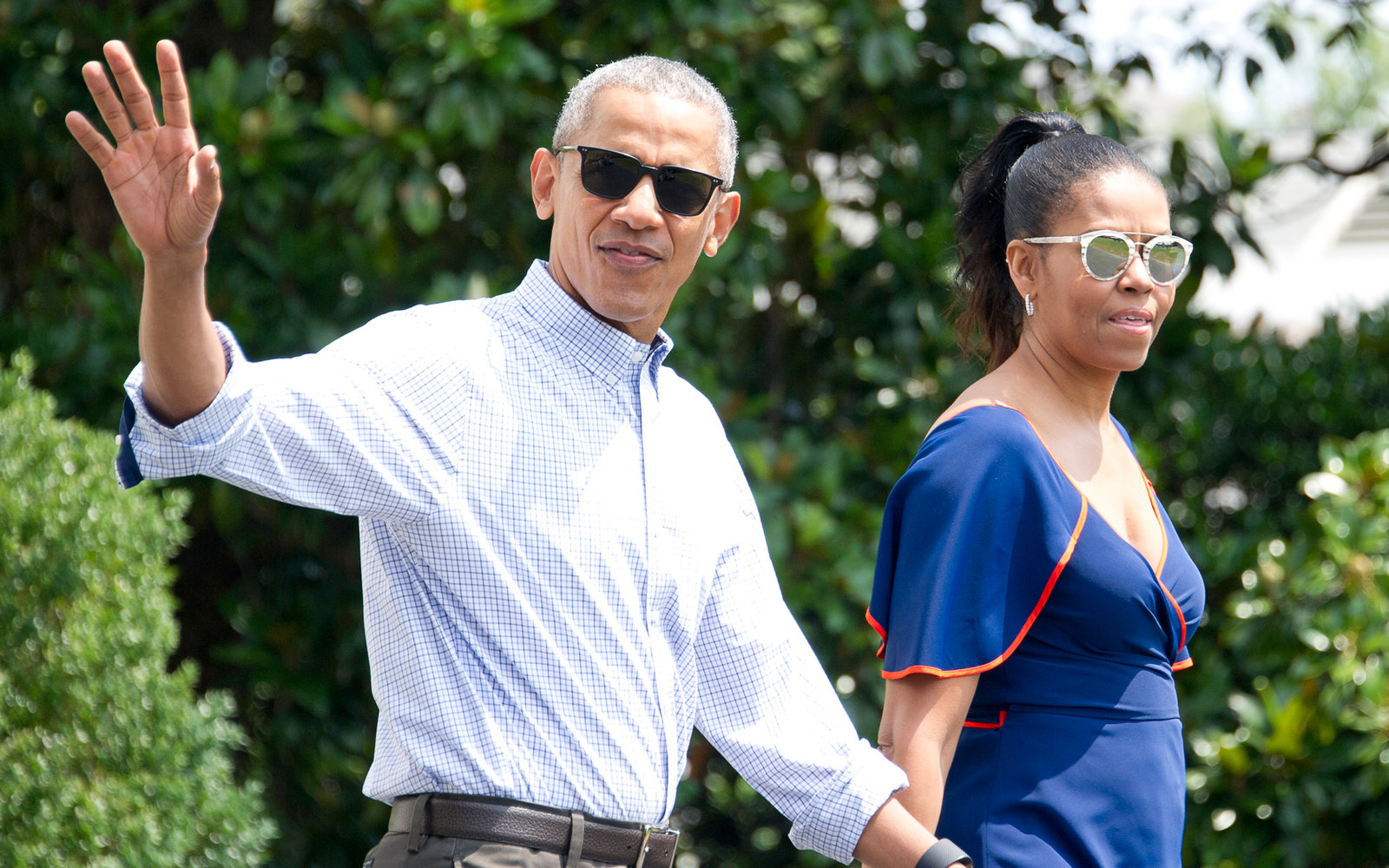Obama Vacations at Martha's Vineyard