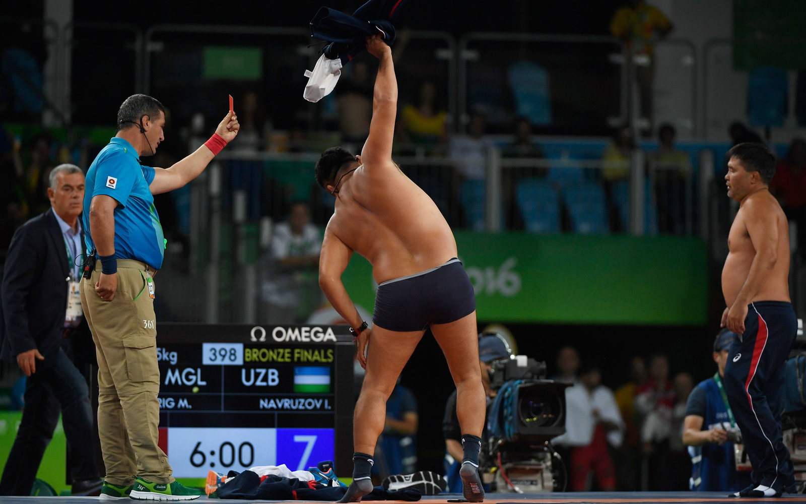 9 craziest things at Olympics