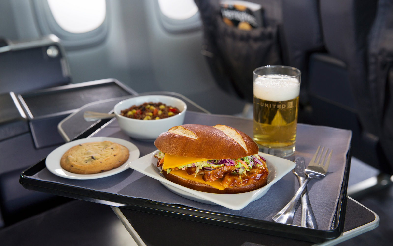 United Airlines Food