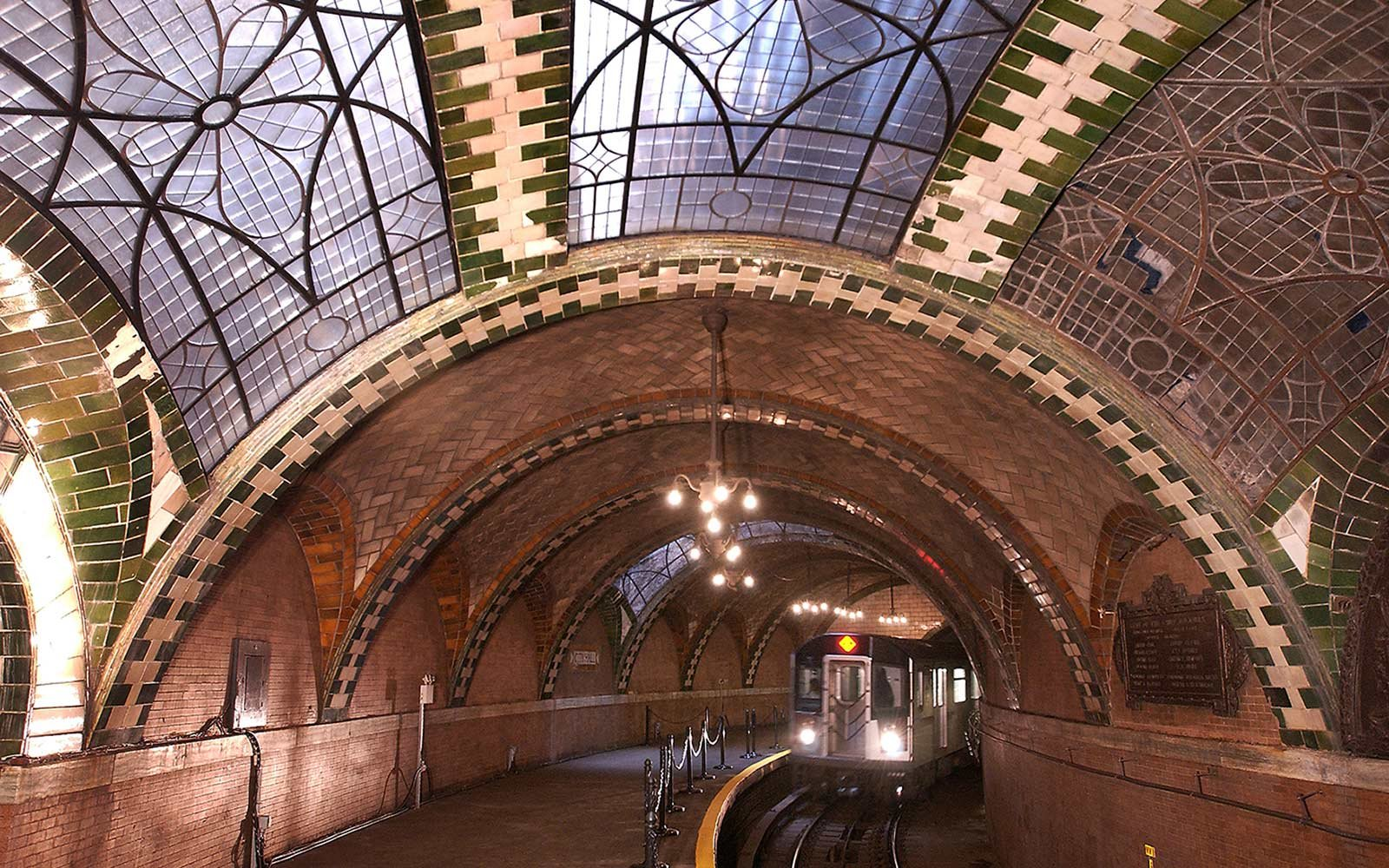 Old City Hall Subway Station, New York City