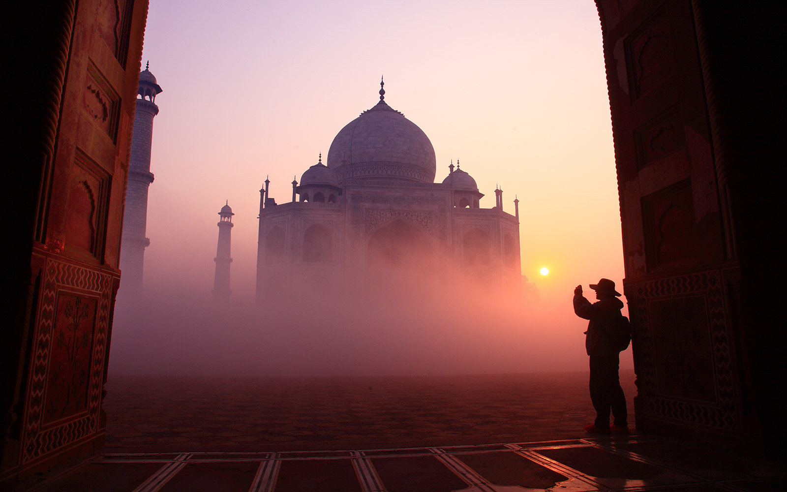 7. Check Out the Taj Mahal in India