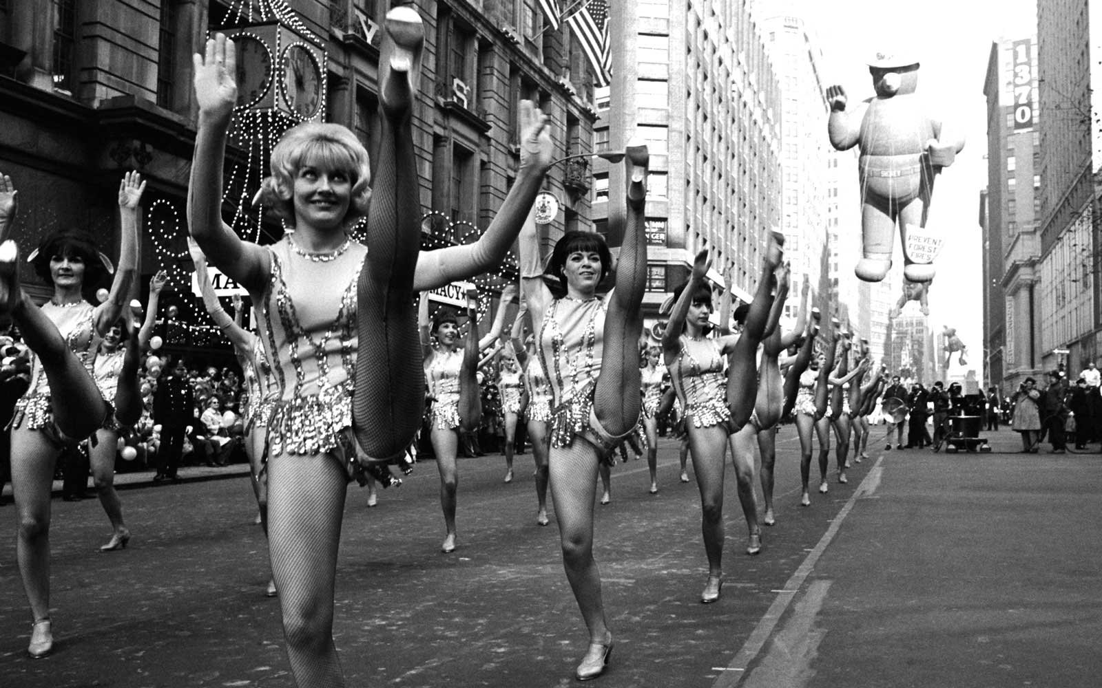 Macy's Thanksgiving Parades Past