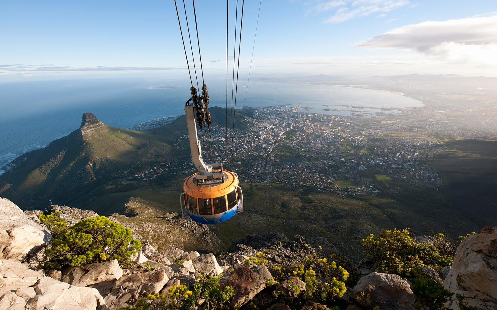 The Table Mountain Aerial Cableway, Cape Town, South Africa
