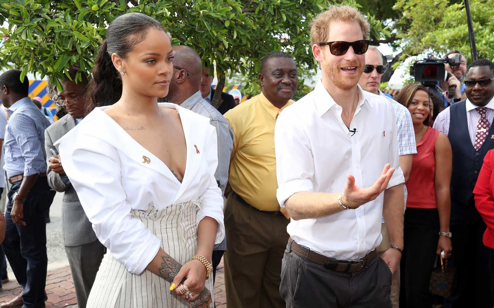 Prince Harry In The Caribbean