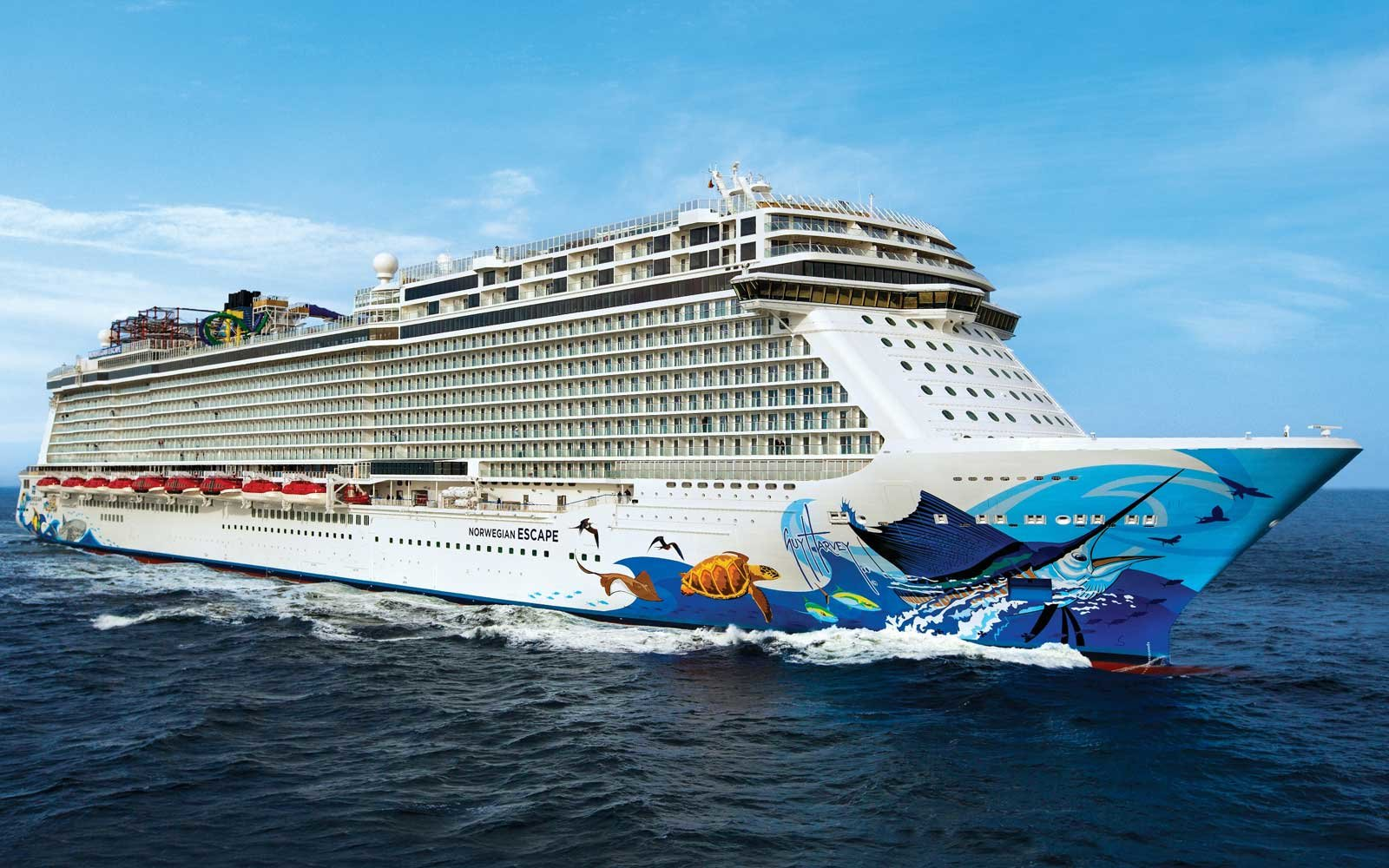 Five Things to Know About Norwegian Cruise Line's Escape Cruise Ship