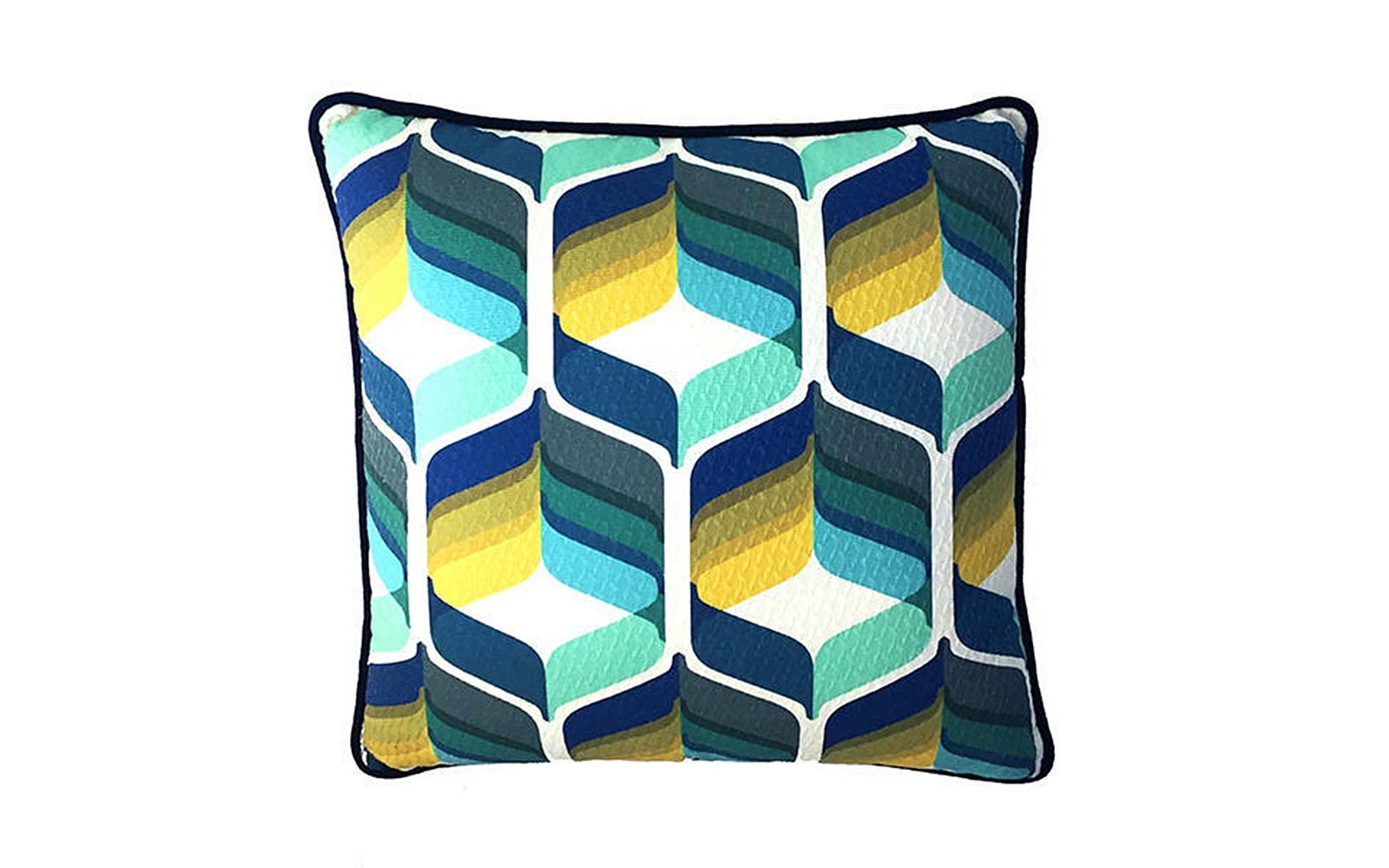 Bells Retro Pillow
