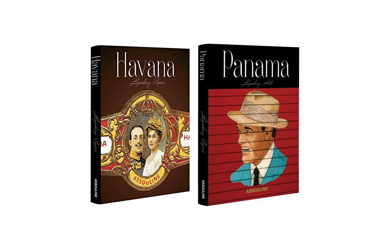 Legendary Set: Panama Hats & Havana Cigars