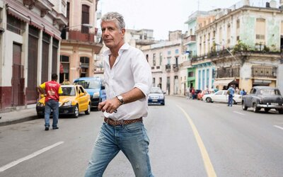 881ca43d Why Anthony Bourdain Doesn't Eat at Restaurants on Vacation | Travel ...