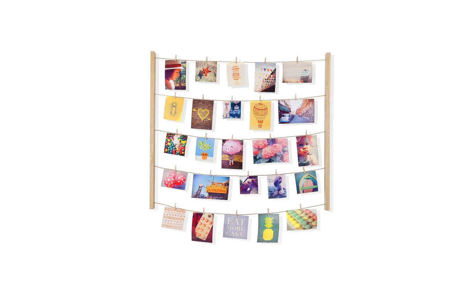 Clothespin Photo Display, Amazon