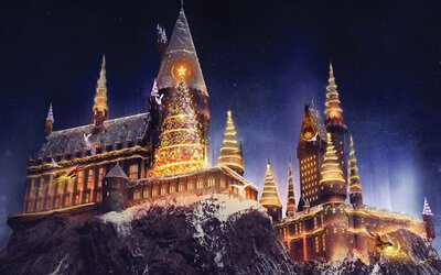 Christmas Harry Potter.You Can Celebrate Christmas At The Wizarding World Of Harry Potter