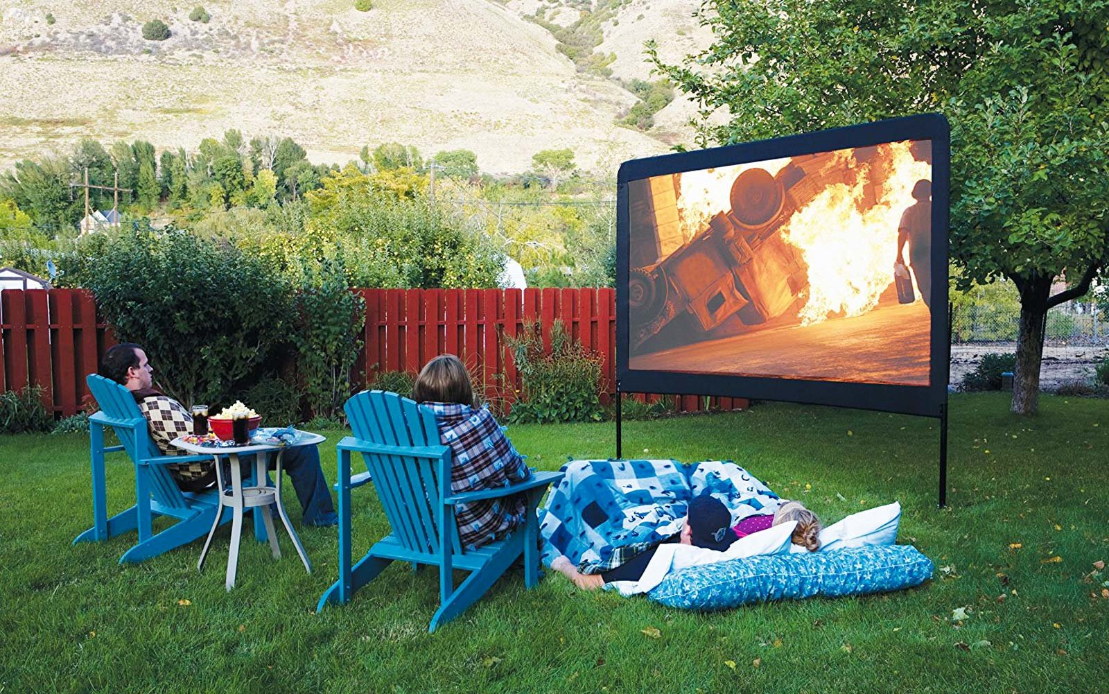 Portable Movie Theater Screen