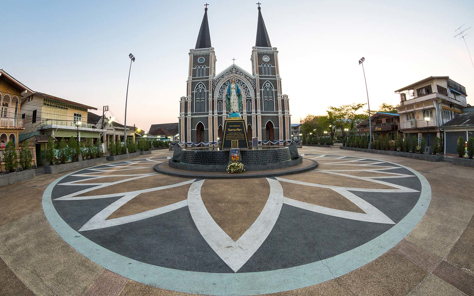 Cathedral of Immaculate Conception Chanthaburi Thailand