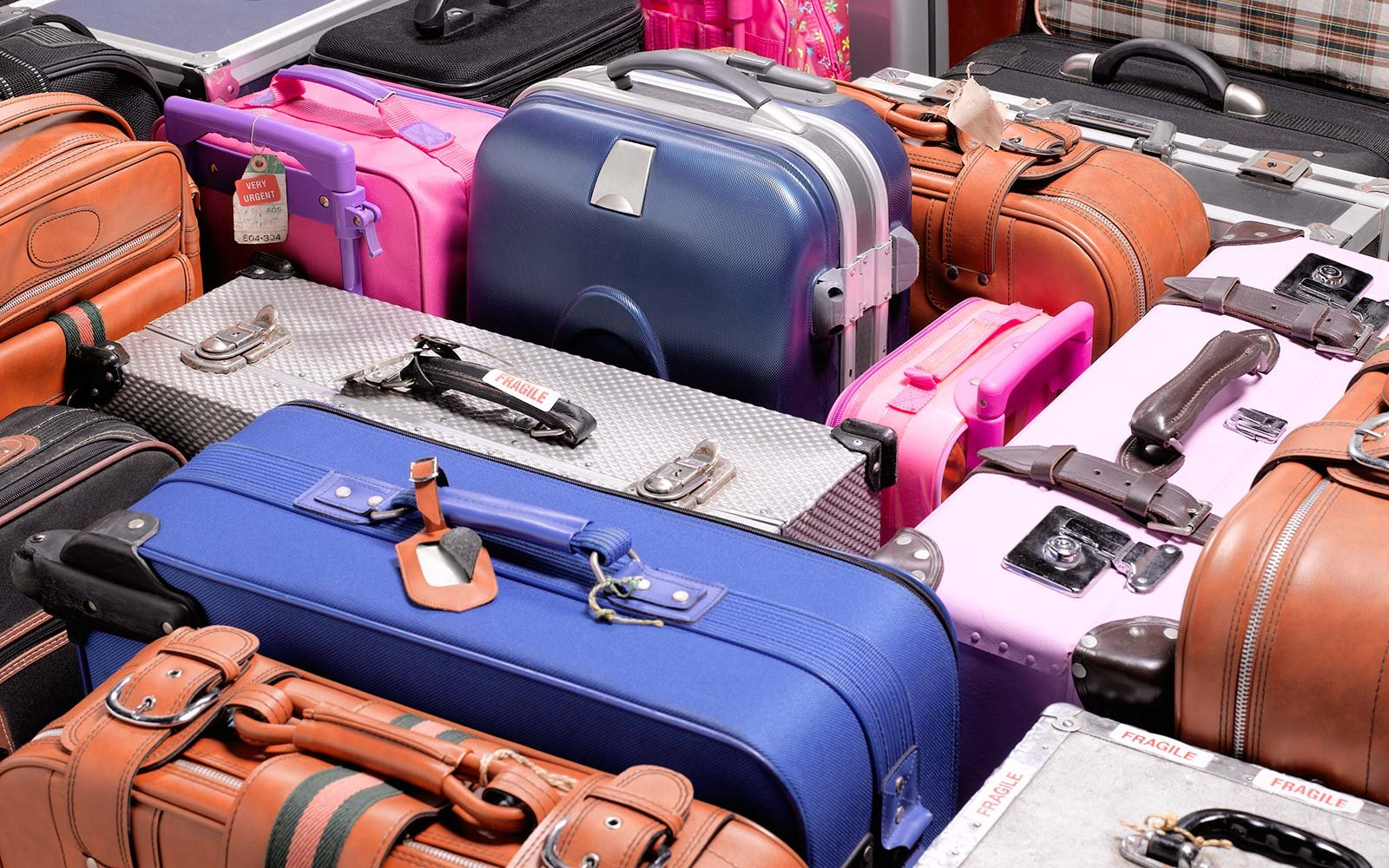 Airport Baggage Luggage Suitcases