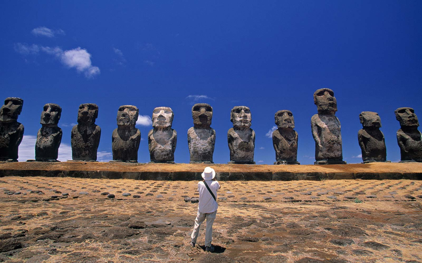 Moais Easter Island Chile