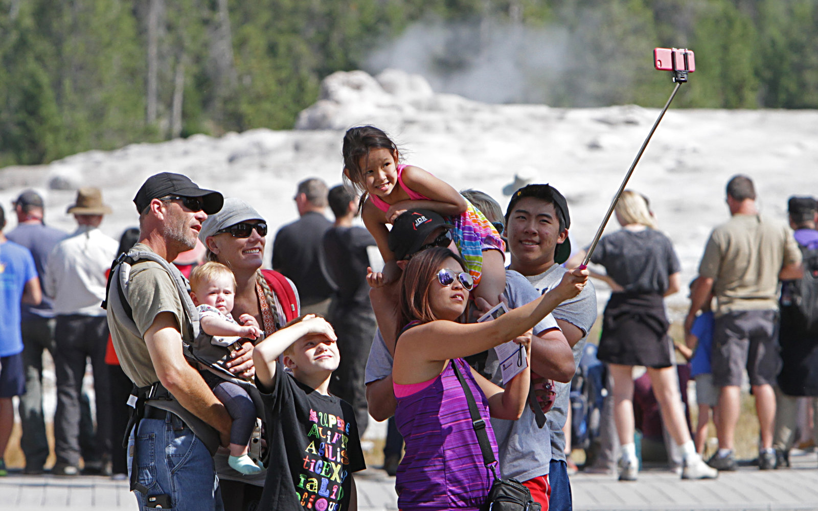 Yellowstone wants visitors to be careful around its natural hazards.