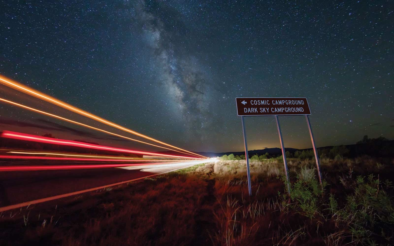 Cosmic Campground, New Mexico