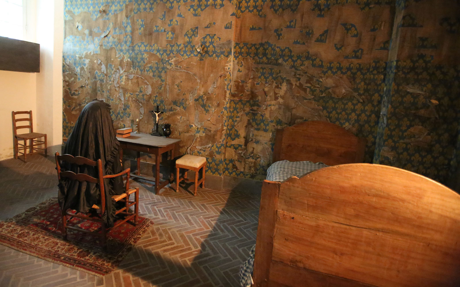 Marie Antoinette's prison cell, The Conciergerie, Paris, France