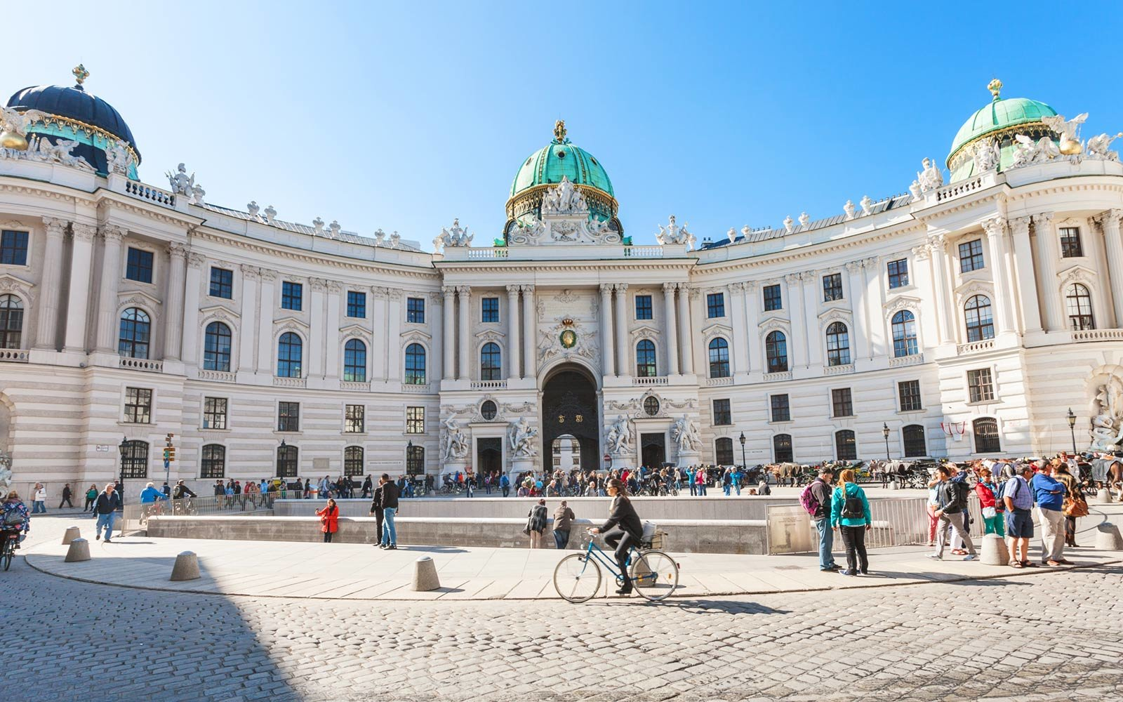 Hofburg Palace, Michaelerplatz Square, Vienna, Austria