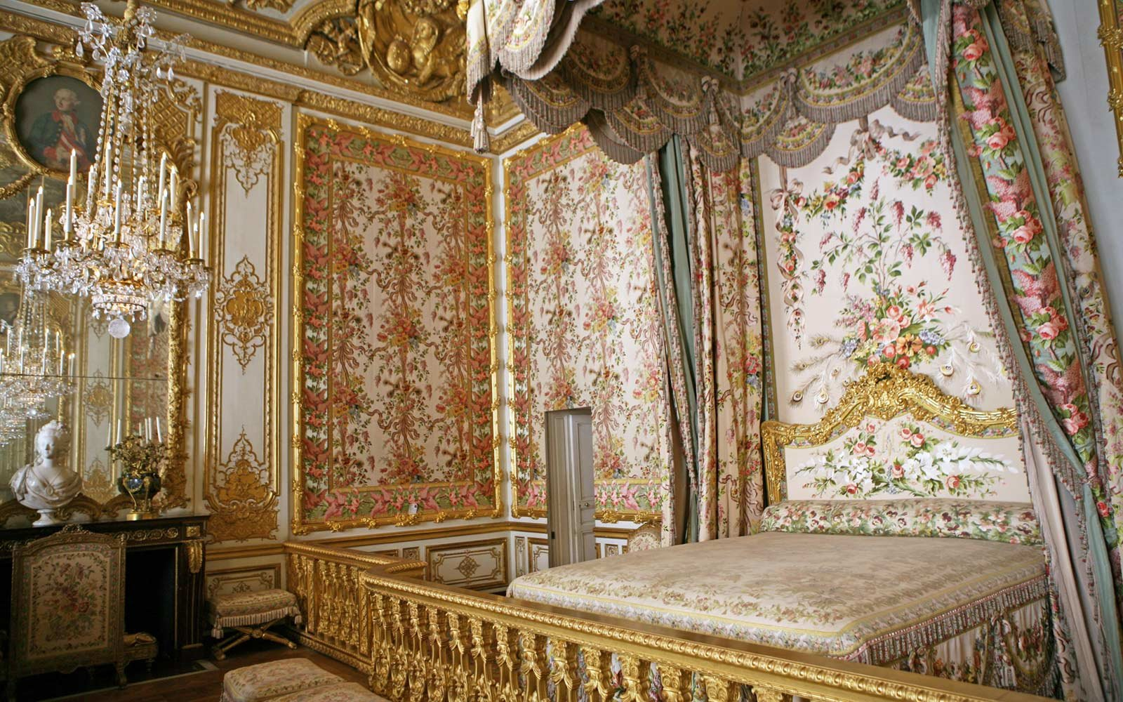 Queens Chambers, Versailles, France