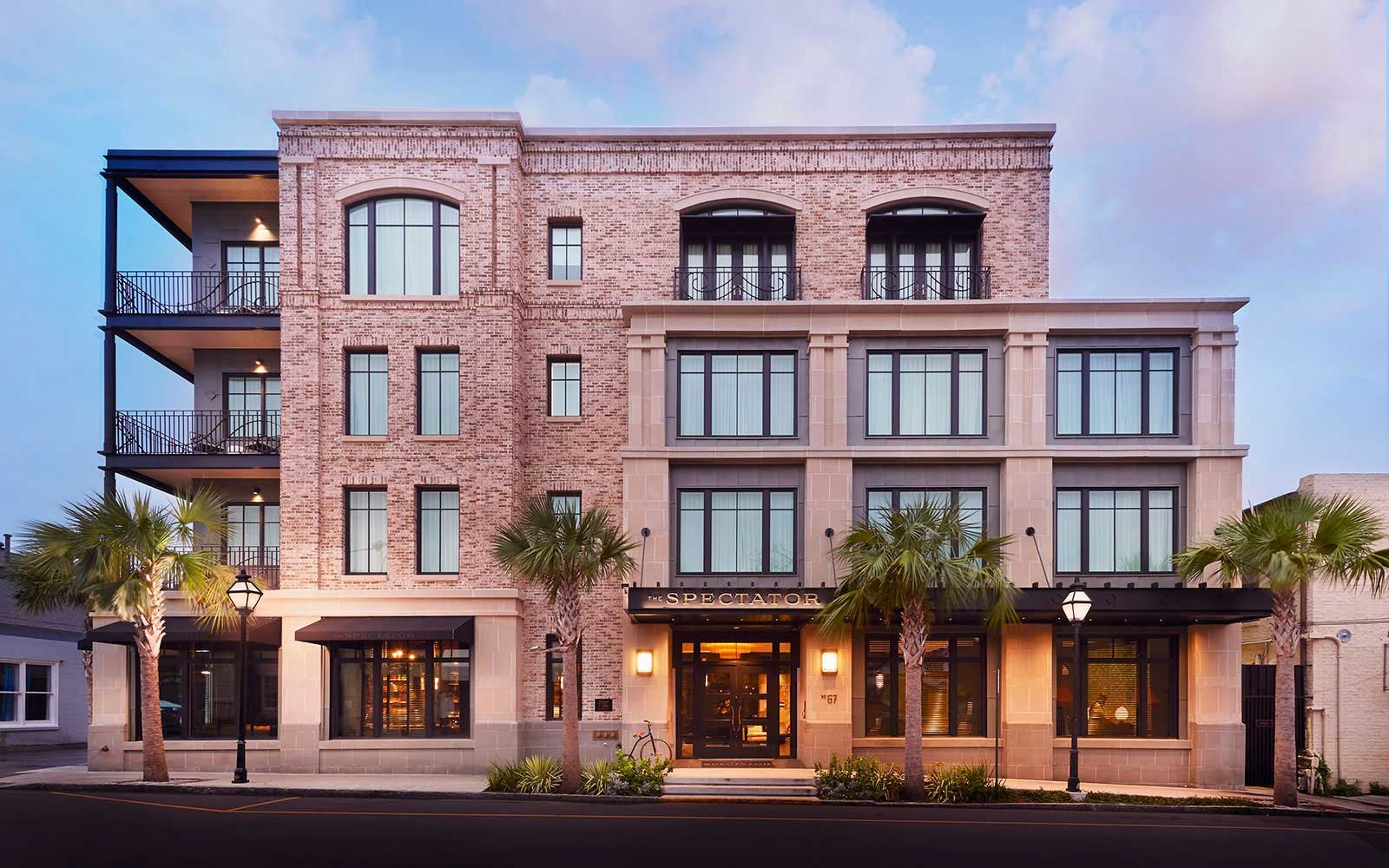 The Spectactor Hotel in Charleston