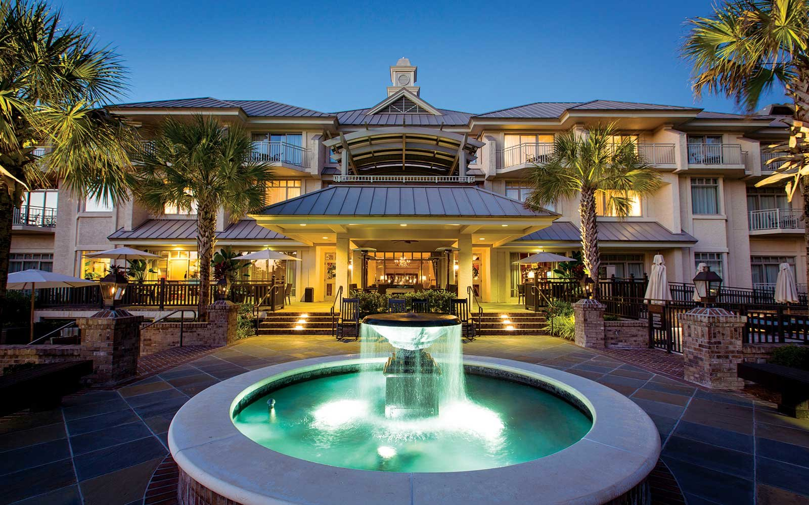 The Inn and Club at Harbour Town Resort Hotel in the South
