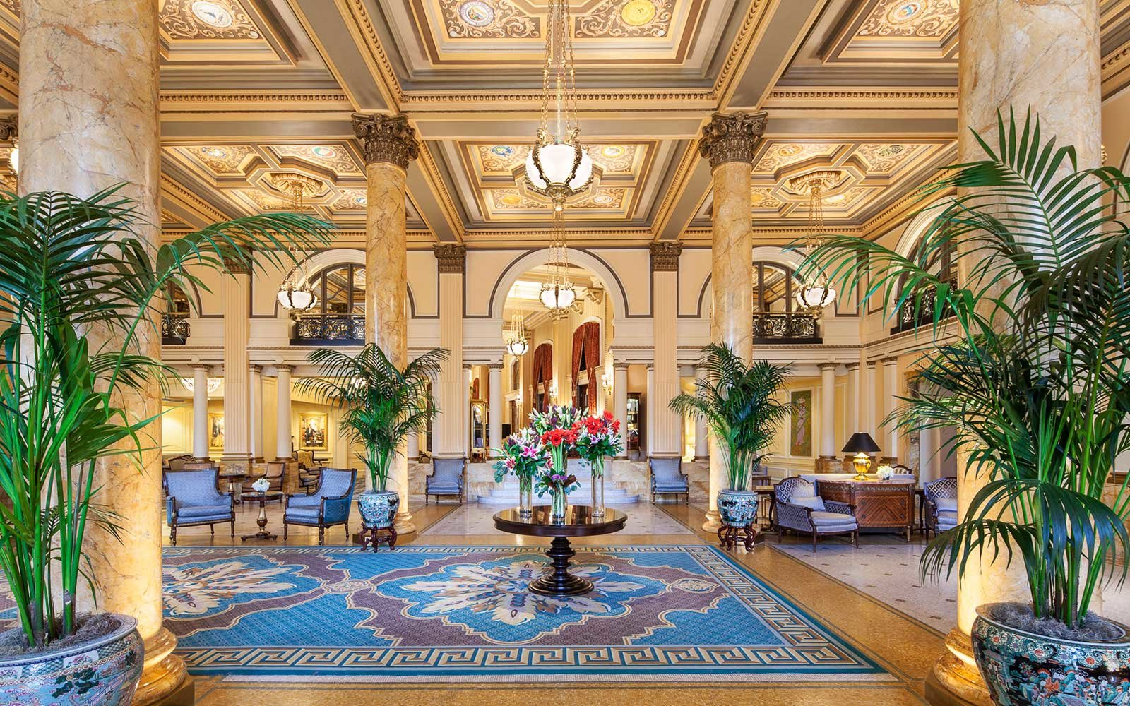 Willard Intercontinental Hotel in Washington DC