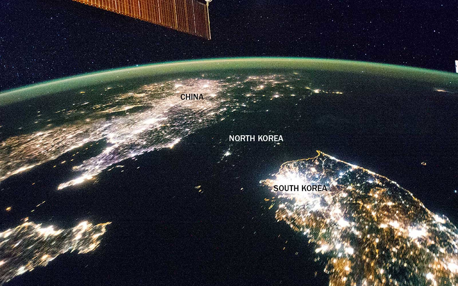 International Borders North and South Korea