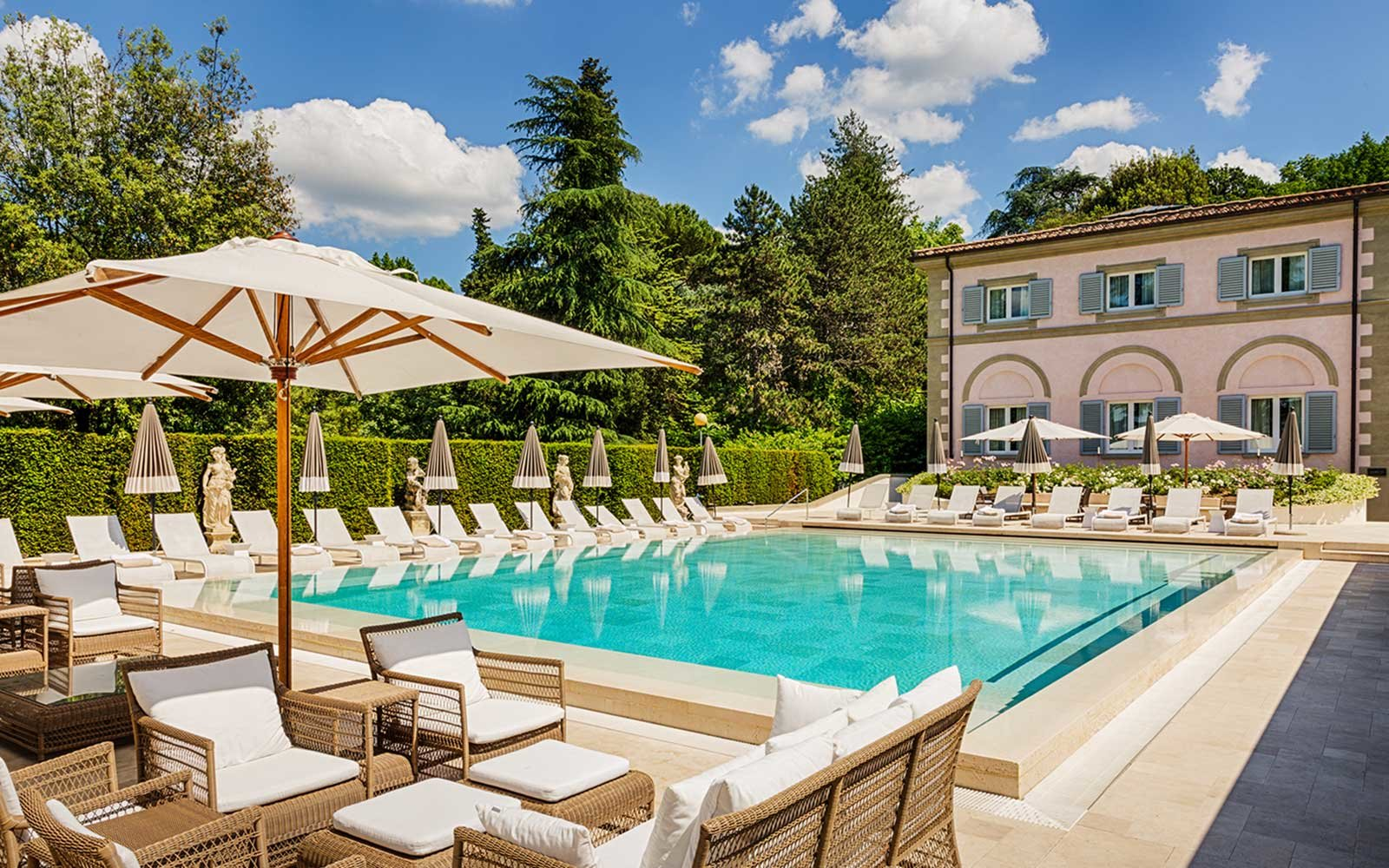 Villa Cora Hotel in Florence