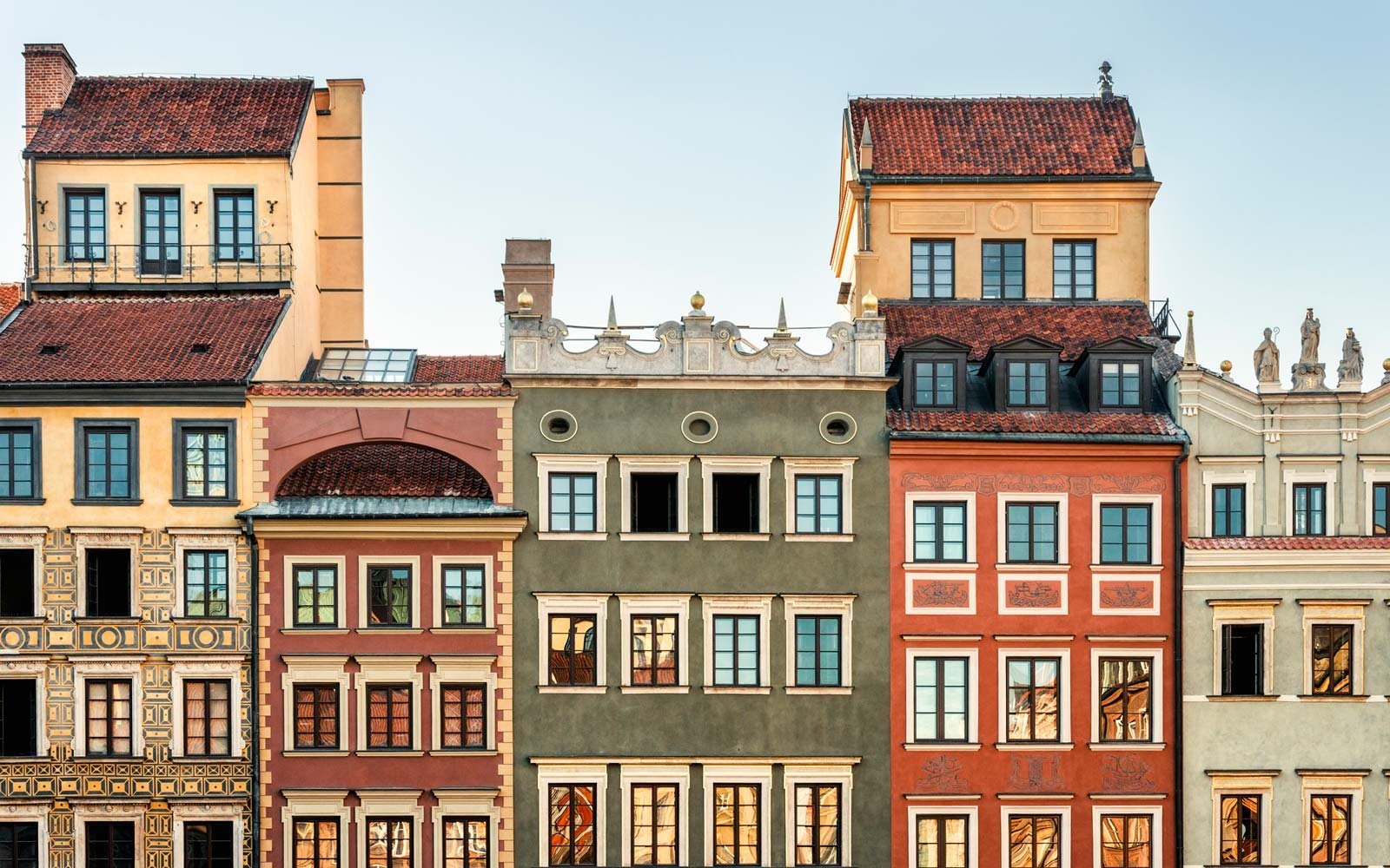 Architecture in Warsaw