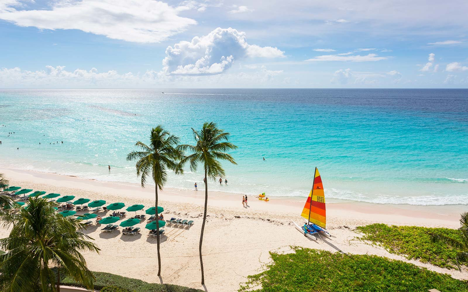 Worthing Beach Barbados Caribbean