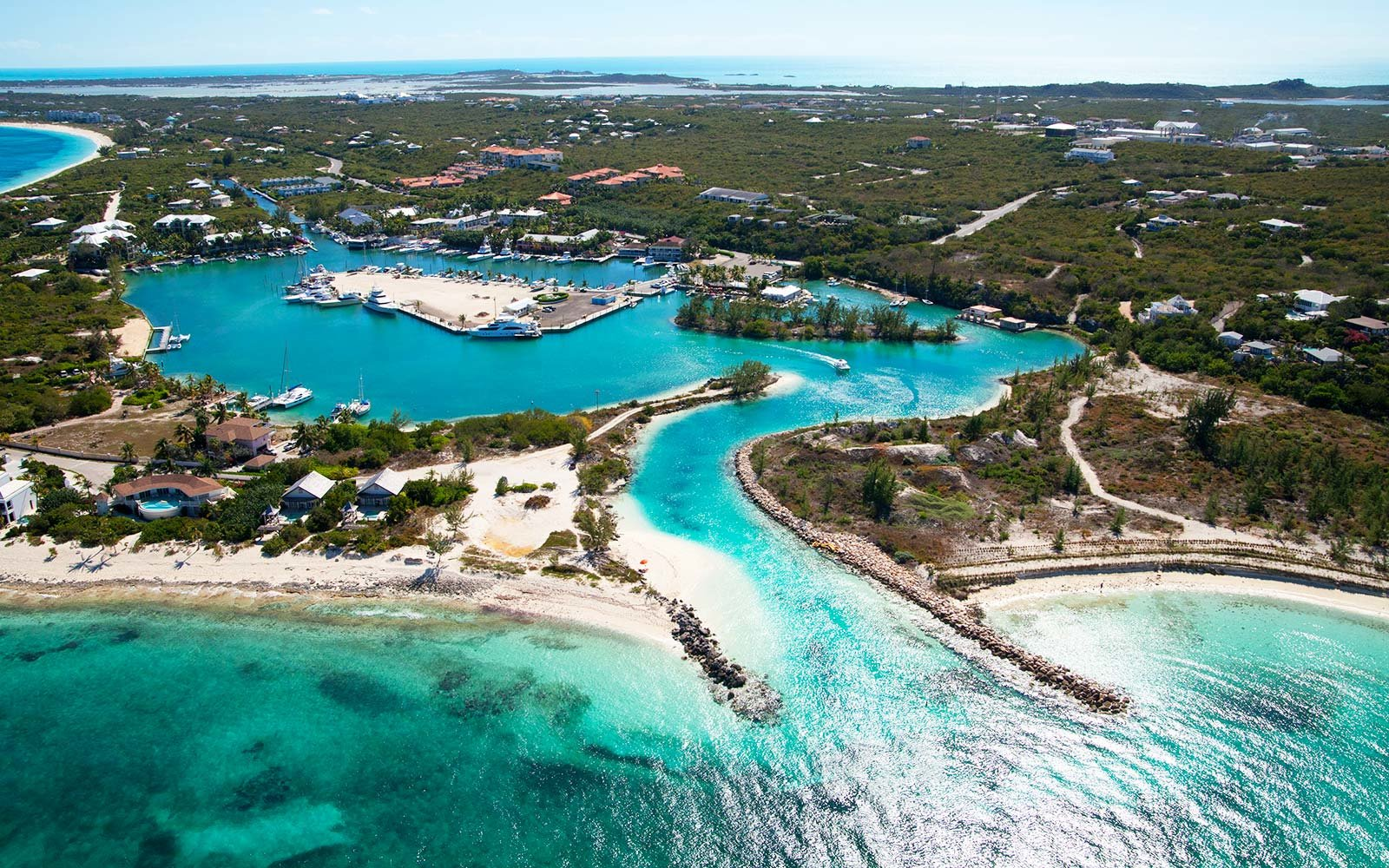 Turtle Cove Turks and Caicos Caribbean