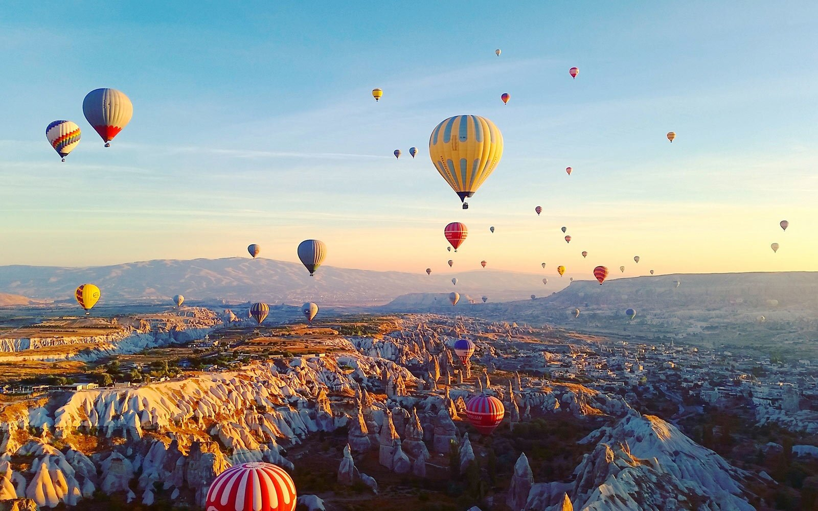 Image result for hot air balloons Cappadocia