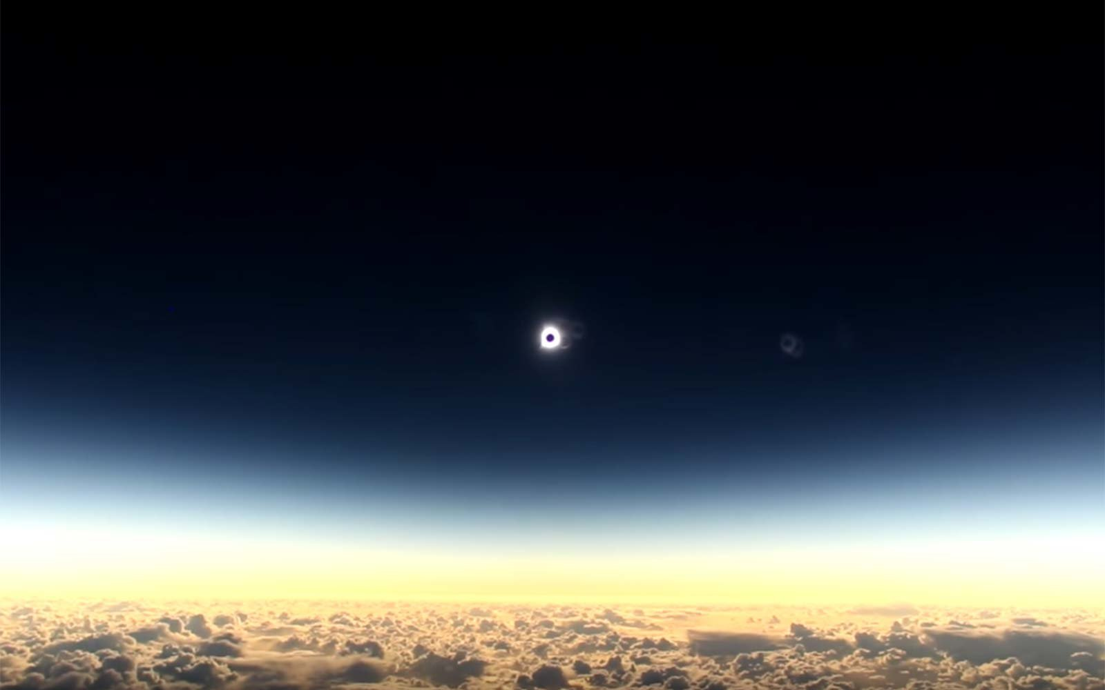 Alaska Airlines Solar Eclipse Flight