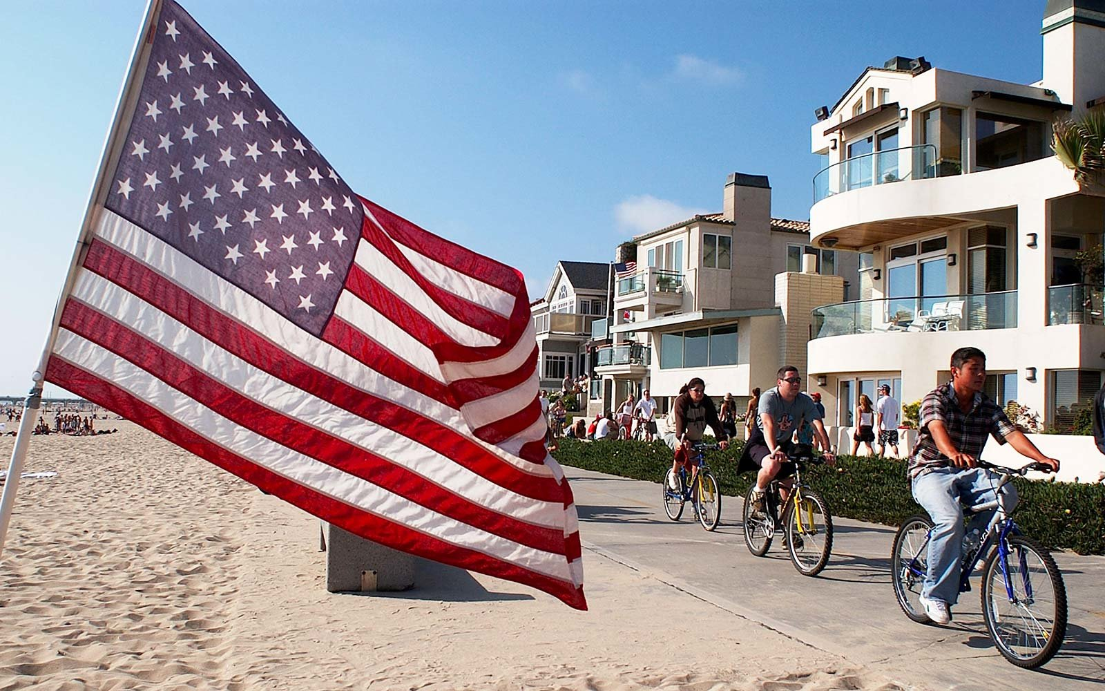Fourth of July Independence Day Hermosa Beach California