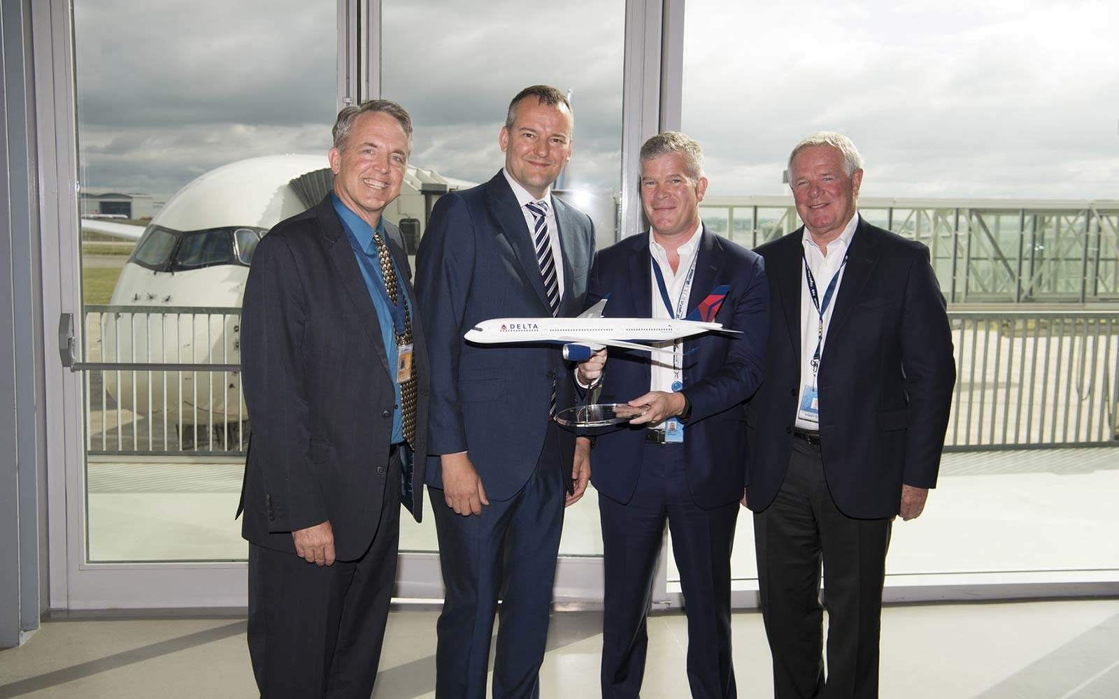 Delta Airlines Airbus A350 Corporate Team