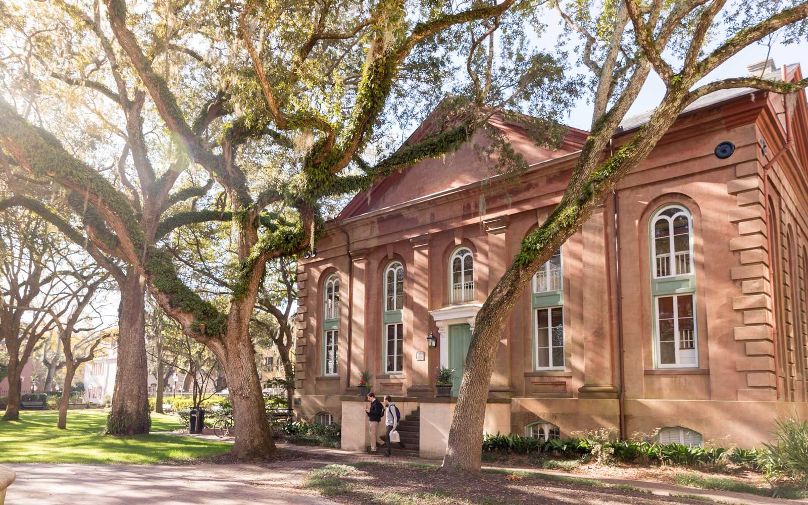 Historic Towell Library Building, College of Charleston