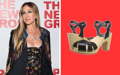 895ad801d99 Sarah Jessica Parker Has Been Wearing This Trendy Travel Shoe for ...