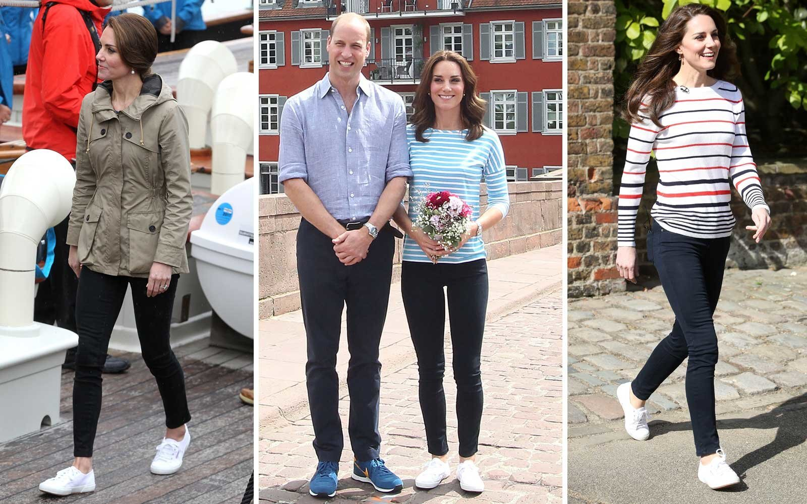 9577367cee9 Outfit Ideas Inspired by Kate Middleton's Travel Style | Travel + ...