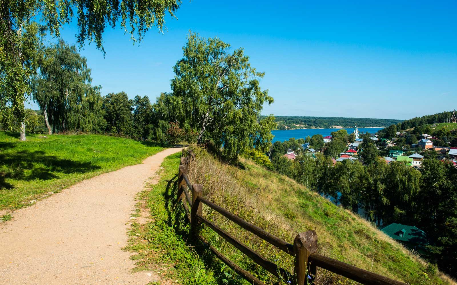 Plyos and the Volga River, Golden Ring, Russia, Europe