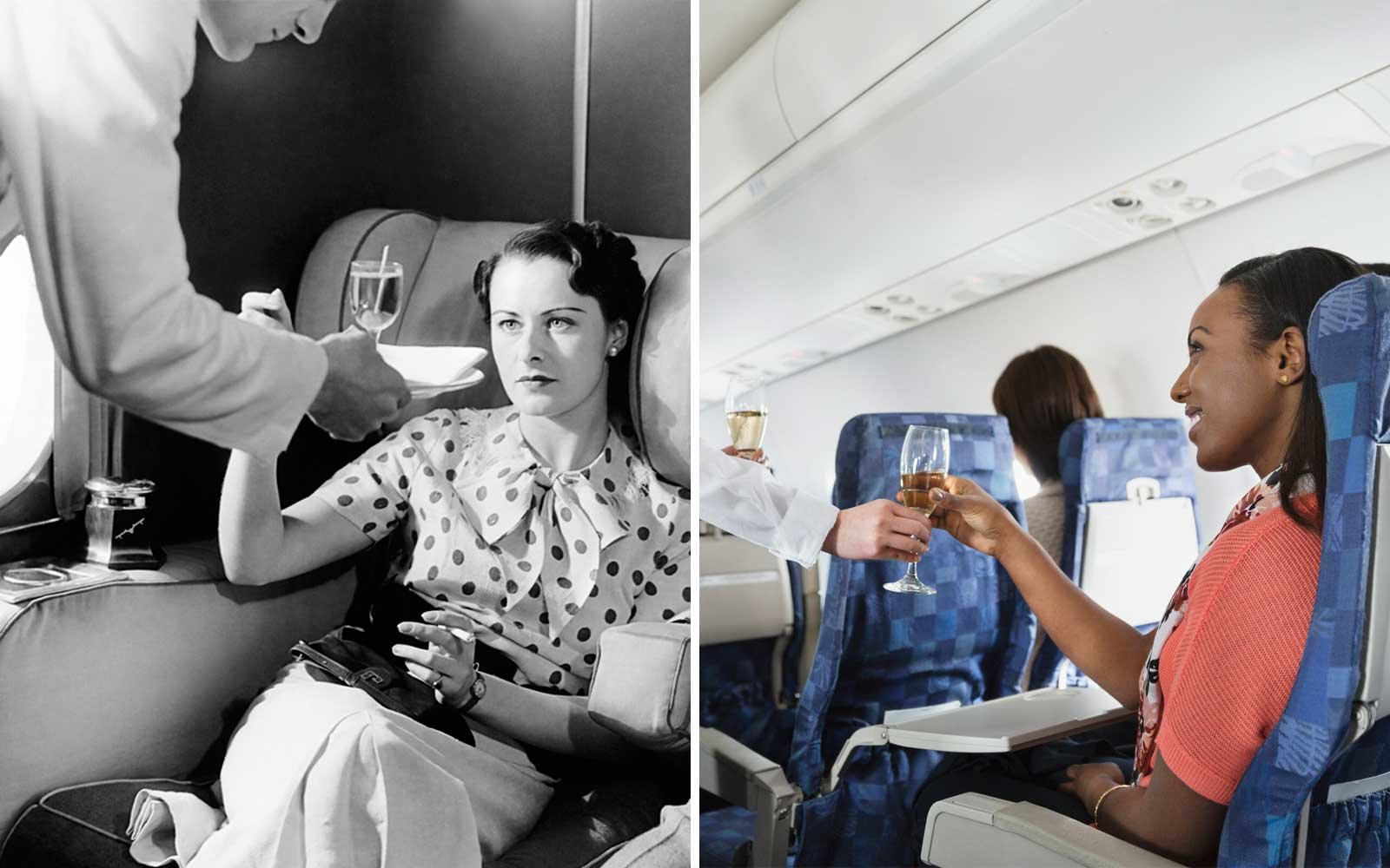 Airfare Then and Now