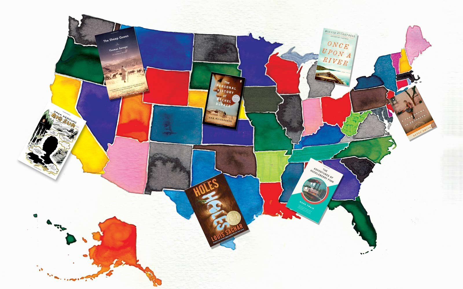 The Best Book in Every State | Travel + Leisure