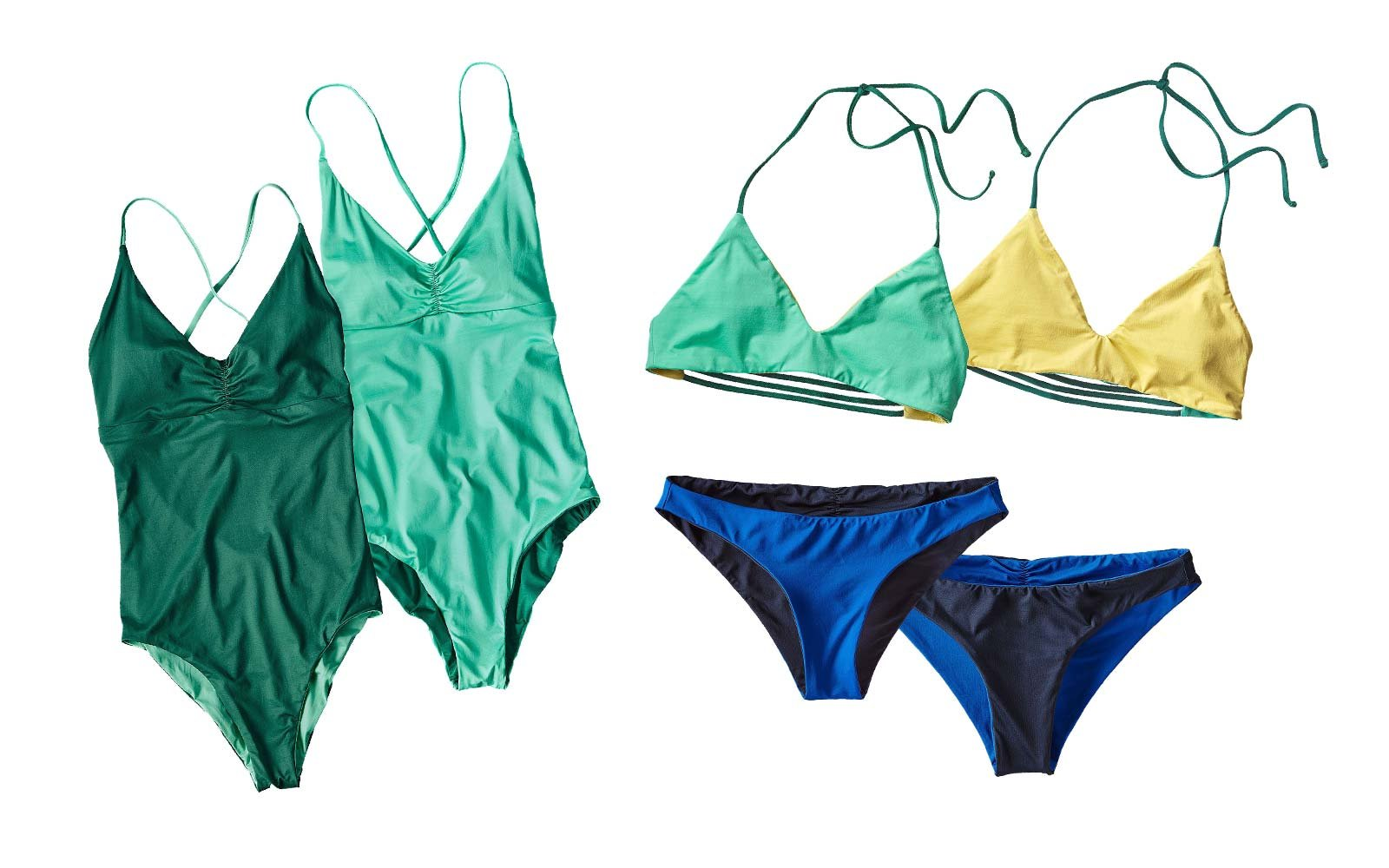 Long Term Travel Packing Patagonia wet dry swimsuits bathing suit